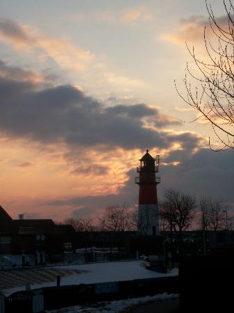 Hotel Morgensonne: Leuchtturm Büsum