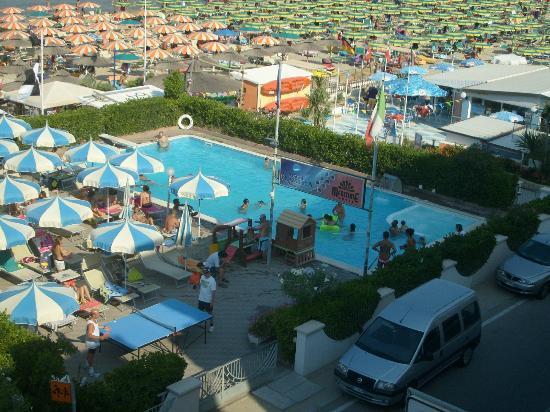 Hotel Francesca: vista dalla nostra camera