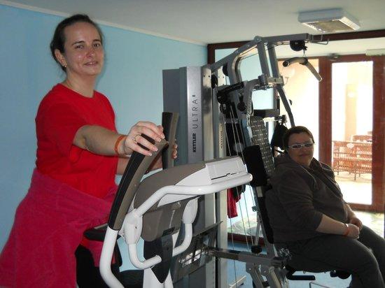 Kristal Hotel: Fitness