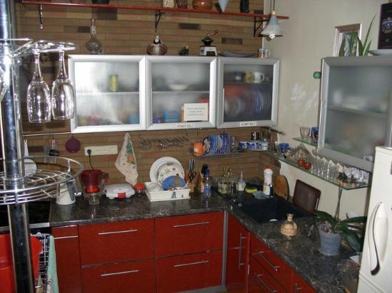 Kiev-Art Hostel: кухня