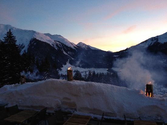 Berghaus Alpenrösli: Blick vom Hotel