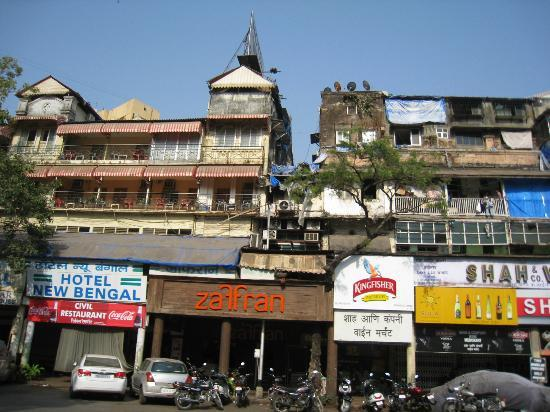 Hotel New Bengal: Fachada