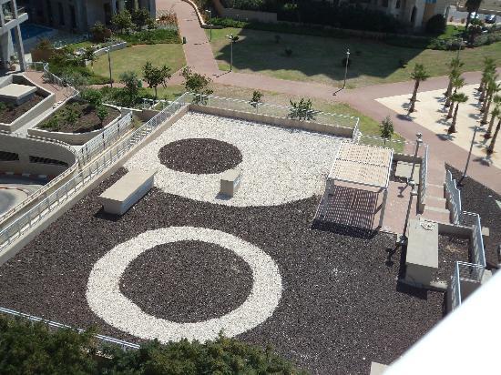 Galil Hotel: Вид с балкона отеля