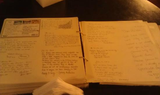 1555 Malabia House: How much people love this place is evident in the guestbook