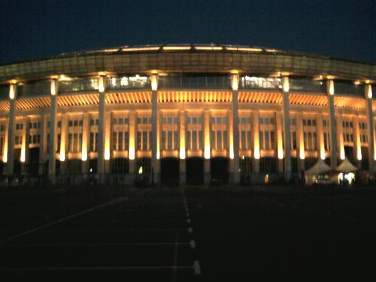 Luzhniki: Stadium night view - 2