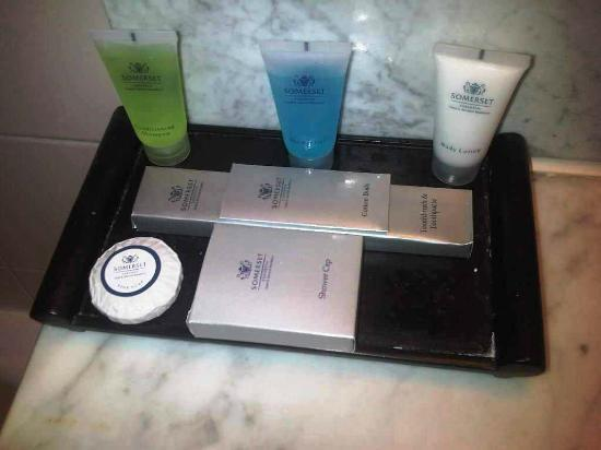 Verwood Hotel and Serviced Residence: toiletries