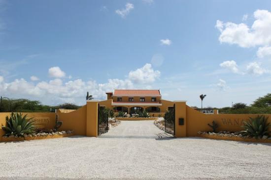 Wanapa Lodge: Wanapa entree