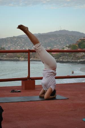 Yoga at Hotel Irma