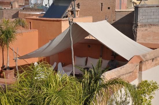 Riad Ennafoura : un petit coin de terrasse