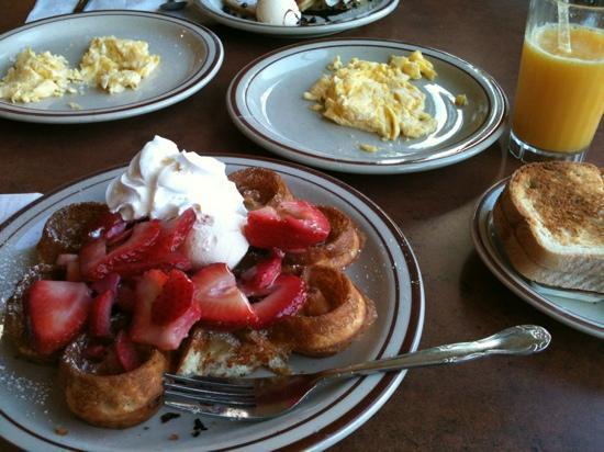 Sunnyside Cafe Restaurant Best Gluten Free Waffle I Have Ever Had