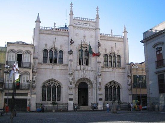 Real Gabinete Portugues Da Leitura : front