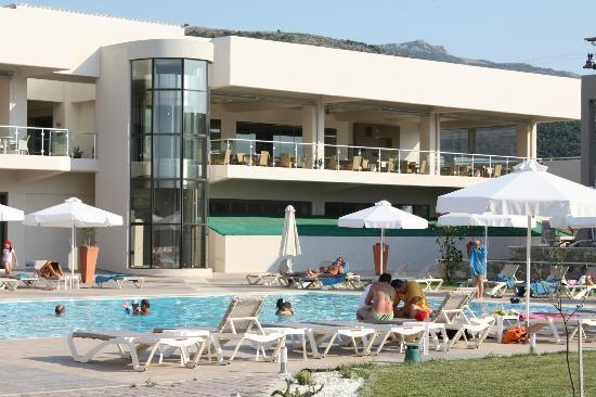 Alea Hotel & Suites: The restaurant