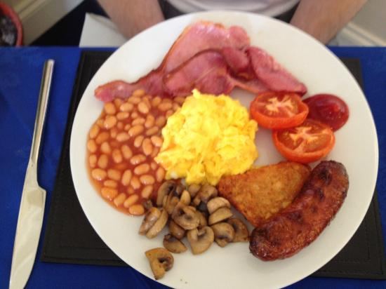 The Seaham Weymouth: Full English Brekkie - Yummy!