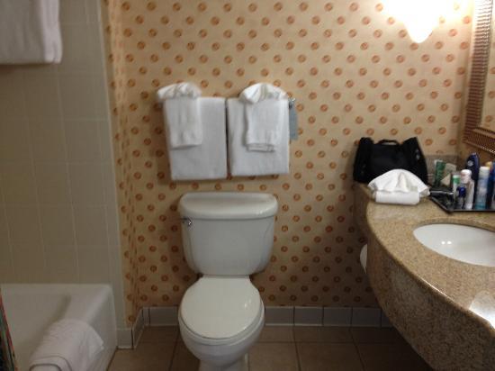 Bathroom at Hilton Naples
