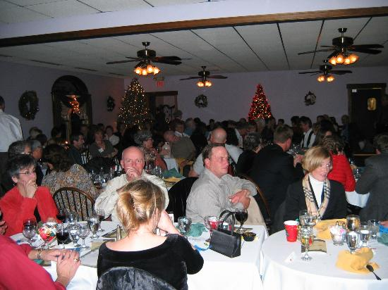 The Fair Haven Inn: THE place to have special events - decorated for the Community Christmas Gala!