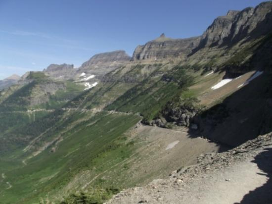 Hiking Along The Garden Wall Picture Of Highline Trail Glacier