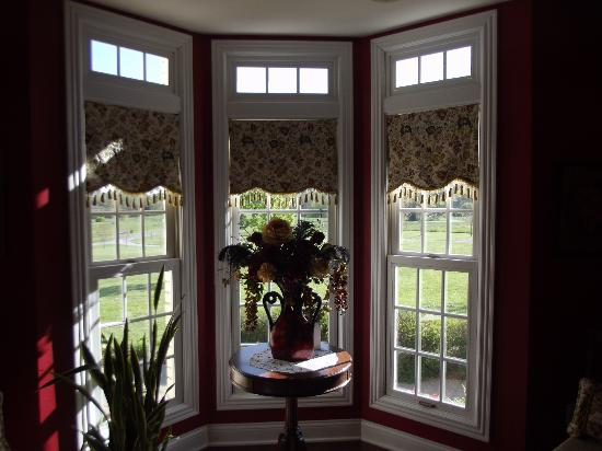 Southern Grace Bed and Breakfast: Windows