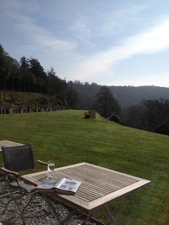 Hotel Endsleigh: View from terrace