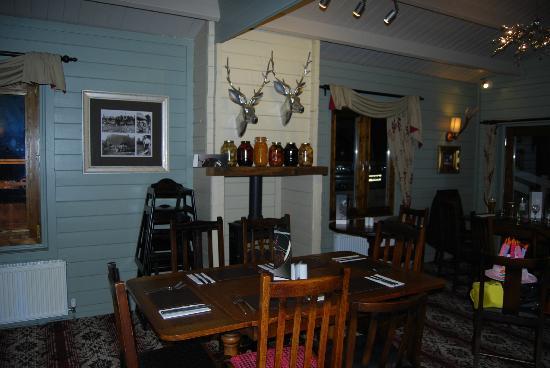 The Star Inn: restaurant area