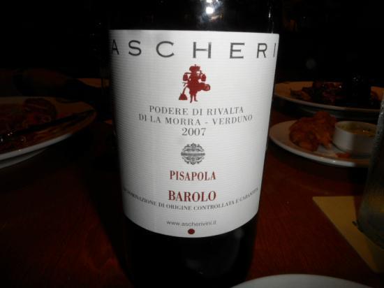 """Campiello: Awesome 2007 Pisapola Barolo to """"kill for"""" ((-:"""