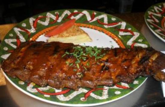 Latin Grill Restaurant Rodeo: spareribs