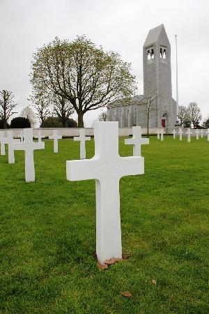 Brittany American Cemetery : Fallen Hero