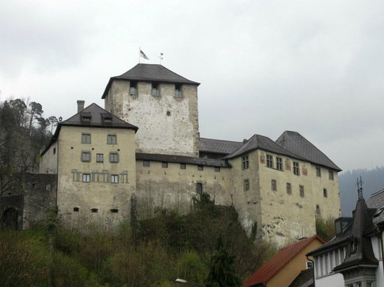 Feldkirch, Avusturya: The Schattenburg Castle