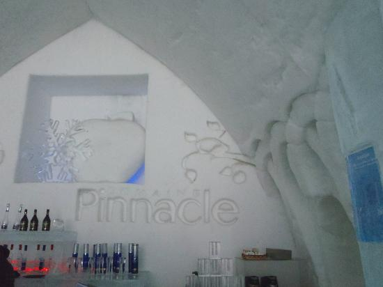 Hotel de Glace: Pinnacle Bar