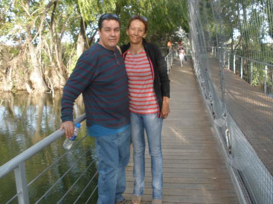 Zoo Bubalco: Gus y Patri en el Aviario