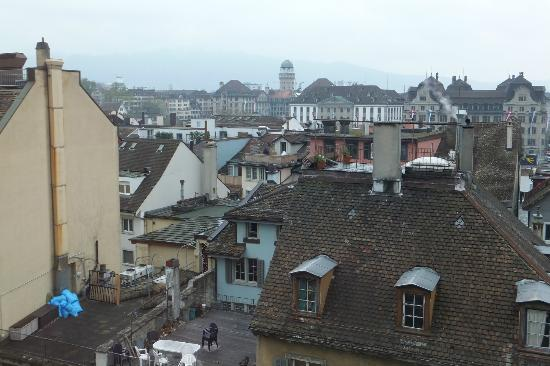 Hotel Marta: Across the rooftops of Zurich