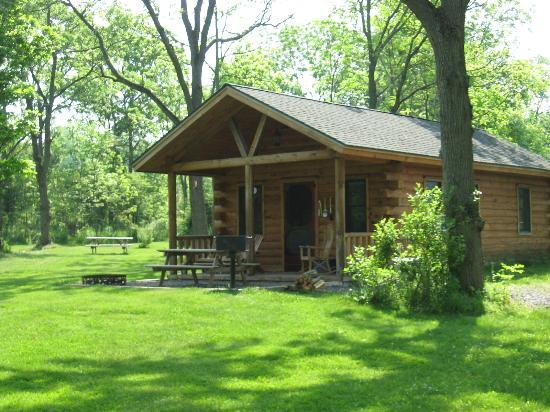 Finger Lakes Mill Creek Cabins: Our cabin.
