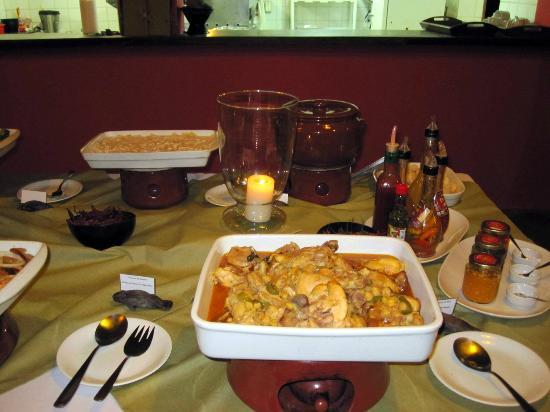 Anavilhanas Jungle Lodge: Buffet