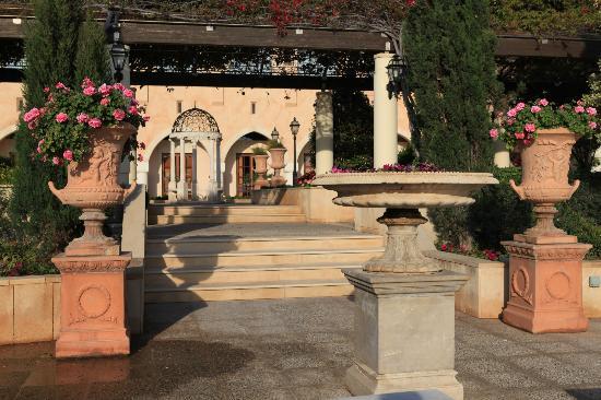 Elysium Hotel : Promenade intérieure