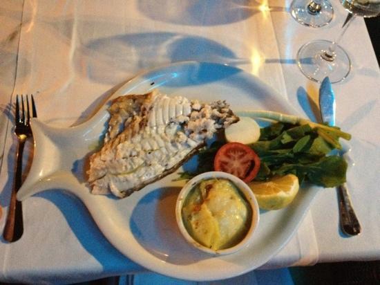 Aphrodite Restaurant: topverse vis...