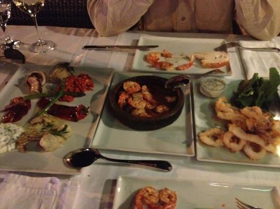 Aphrodite Restaurant: heerlijke Turkse voorgerechten