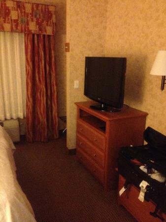 Hampton Inn Salt Lake City/Layton: 2nd TV