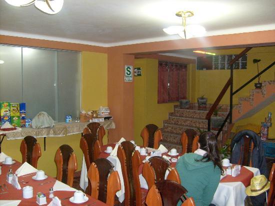 Plaza Andina Machupicchu: Desayunador