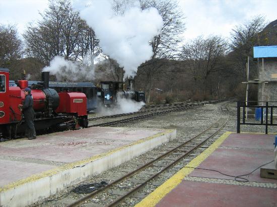 Tren Historico a Vapor Bariloche : Otro aspecto del tren