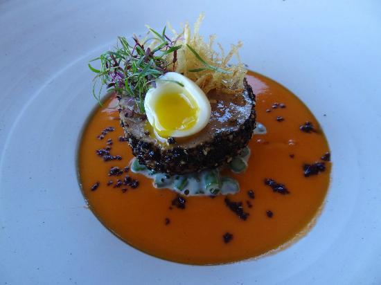 The Jordan Restaurant: Tuna starter