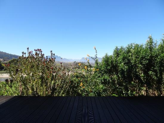 The Jordan Restaurant: View from the restaurant veranda