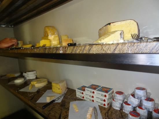 The Jordan Restaurant : The amazing cheese room!