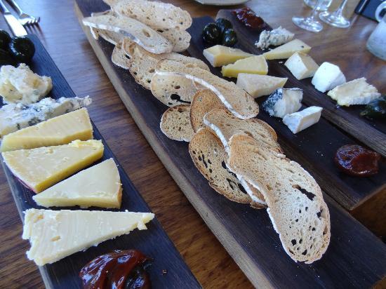 The Jordan Restaurant : The cheese selection - delicious!!