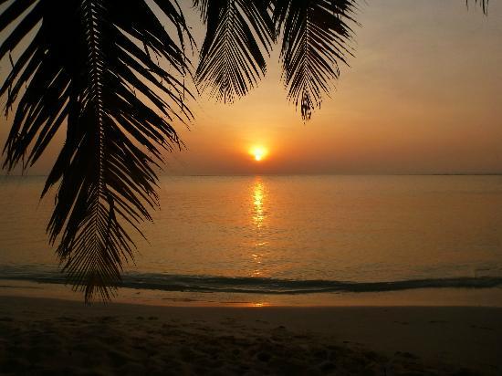 Summer Island Maldives: Le soir, le soleil se couche. Et c'est beau !