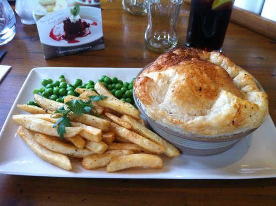 The Shy Horse: The Chicken pie, my favourite!!