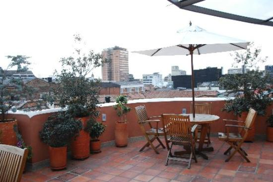 Hotel Casa Deco: Terraza