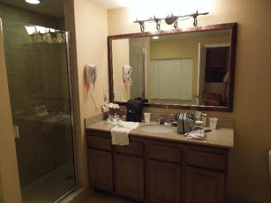 Floridays Resort: master bath