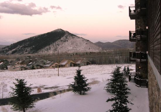 Waldorf Astoria Park City: View from my room