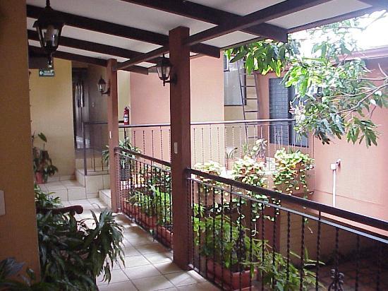 Hotel Aeromundo: Hallway
