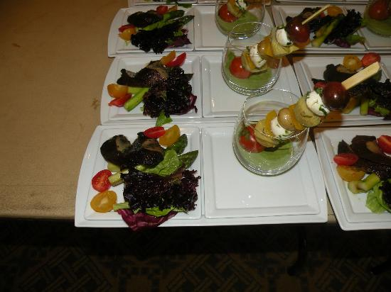Four Seasons Hotel Washington, DC : Shish Kabob of Salad in a Green Goddess Dressing