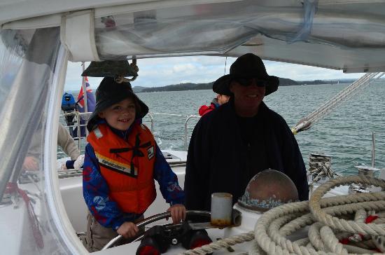 Bay of Islands Sailing/Gungha II: Great for the kids!